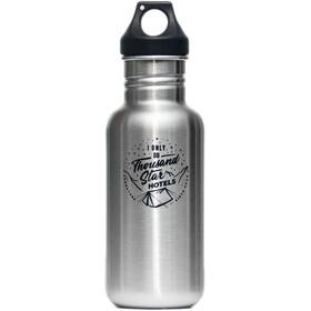 addnature 532 ml Bottle Stainless Steel 532ml black/addnature print